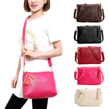 Fashion Women PU Messenger Crossbody Lady Shoulder Bag Satchel Handbag Tote