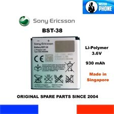 REPLACEMENT BATTERY SONY ERICSSON BST-38 930mAh GENUINE 3,3Wh Li-POLIMER 3,6V