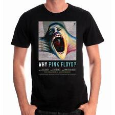 OFFICIAL LICENSED - PINK FLOYD - WHY PINK FLOYD? COVER T SHIRT - ROCK GILMOUR
