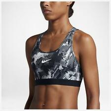 New NIKE PRO CLASSIC Sports Bra/YOGA/gym/run/black/removable pads/sport bra