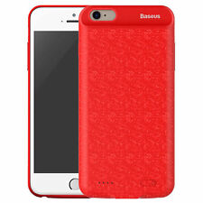 IPHONE 7 2500mah Baseus External Battery Portable Powerbank Case Cover RED