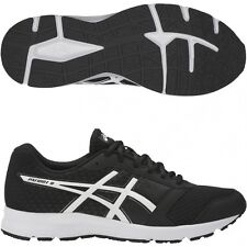 Asics Patriot 8 Mens Black White T619N 9001 Running Shoes Size UK 7 8 8.5 10.5