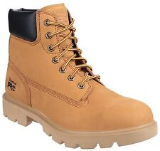 Timberland Pro Mens Lace up Safety Boot in Wheat Multi Size Sawhorse Lace