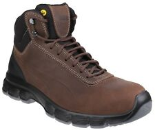 Puma Safety Mens Brown Athletic Safety Boot Various Size Condor Mid 630122