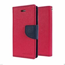 Mercury Wallet Diary Style Flip Back Case Cover For Vivo Models