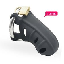 Extreme silicone Chastity with Stainless Steel Adjustable Ring A310