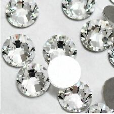 Super deal Shiny 1440PCS SS3 to ss10 non hotfix rhinestone Clear Crystal color 3