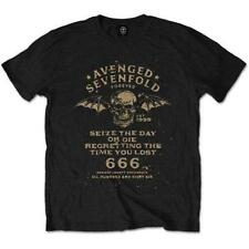 OFFICIAL LICENSED - AVENGED SEVENFOLD - SEIZE THE DAY T SHIRT - METAL A7X