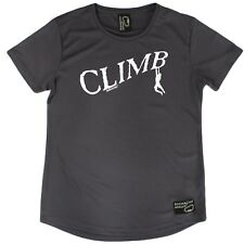 Adrenaline Addict - Climb - Premium Dry Fit Breathable Sports Round-Neck T-SHIRT