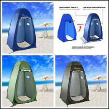 Portable tente instantanee de douche toilette camping abri de plein air privacy ebay for Douche plein air