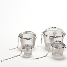 Stainless Steel Tea Bag Squeezer Infuser Strainer Filter Steep Herbal Spice FOUK