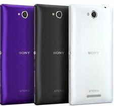 Battery Door Back Panel Case Cover for Sony Xperia C C2305 Housing Cover