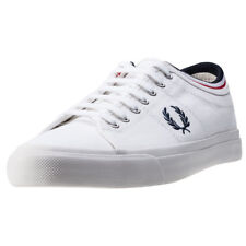 Fred Perry Kendrick Tipped Cuff Hommes Baskets White Navy Neuf Chaussure