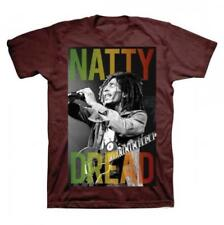 OFFICIAL LICENSED - BOB MARLEY - NATTY DREAD T SHIRT - REGGAE LEGEND RASTA