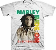 OFFICIAL LICENSED - BOB MARLEY - RIDE ON POSE T SHIRT - REGGAE RASTA NATTY