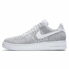 Nike Air Force 1 AF1 Ultra Flyknit Low Mens Shoe Size Cool Grey White 817419 006