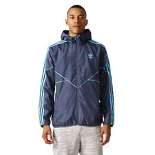 adidas Originals Essentials Windbreaker Jacket Mens Sport Windcheater Soft Shell