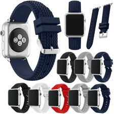 adjustable soft Silicone Strap Sport Band for Apple Watch 38/42MM iWatch new
