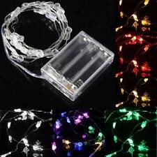 2M 20 LED Rabbit Head Battery Operated Xmas String Fairy Lights Party Wedding Ch