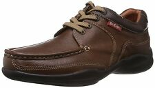 Lee Cooper Brown Leather Casual Shoes