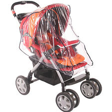 Universal Strong Transparent Film RAIN COVER BABY CAR SEAT PRAM BUGGY STROLLER