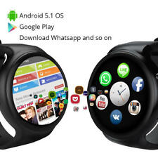 I4 Smart Watch Phone 1GB+16GB Android SIM Card 3G WIFI GPS Heart Rate Monitor