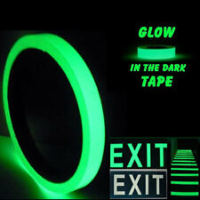 3mx12/15/20/30/40/5/100mm Luminous Tape Self-adhesive Glowing In The Dark Safety