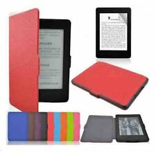 PU leather Magnetic lock flip case cover Amazon kindle Paperwhite 2015 Edition