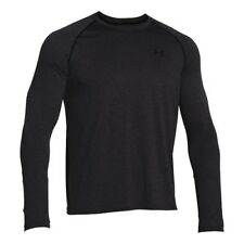 Under Armour Herren Tech Longsleeve Carbon Heather 1264088-090