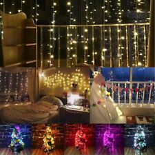 2M*3M 288LED Outdoor Christmas Xmas Wedding Party Fairy String Curtain Hanging W
