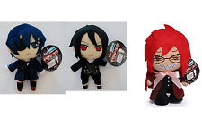 """Anime Black Butler Soft Plush 9"""" - 12"""" inches - Choose your character - New tags"""