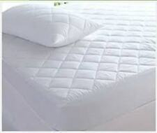 New Luxury Quality Egyptian Cotton Quilted Mattress Protector 40cm All Sizes