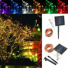 32M Solar Powered LED String Copper Wire Fairy Light Christmas Lamp Waterproof