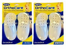 Orthopedic SHOE INSOLES Arch Support Heel Contour SHOCK ABSORB Balance Stability