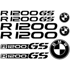 MAXI SET BMW R1200 GS Vinyl Decal Stickers Sheet Motorcycle Tank Quality