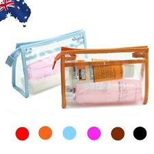 Cosmetic Makeup Toiletry Clear PVC Organizer Travel Wash Bag Portable HDHA790