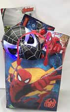 Marvel The Amazing Ultimate Spider-man Childrens Gift Hamper with light up mask