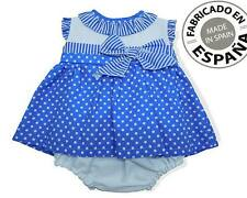 Baby Girls Spanish 3 Piece Dress, Knickers & Bonnet Set