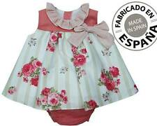 Baby Girls Spanish 2 Piece Dress & Knickers Set.