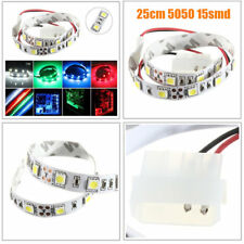 25CM SMD 5050 Non-Wtaterproof LED Flexible Strip Light PC Computer Case Adhesive