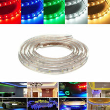 2M 7W Waterproof IP67 SMD 3528 120 LED Strip Rope Light Christmas Party Outdoor