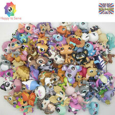 Mini Doll Littlest Pet Shop Dog Cat Figure Child Girls Lot Of 10 PCS Random Toys