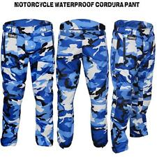 Motorbike Motorcycle Trousers CE Armoured Cordura Textile Waterproof Camo Pants