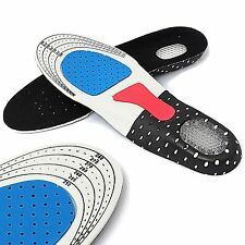 Pair of Orthotic Arch Support Unisex Insoles Sport Flat Feet Foot High Arch Gel