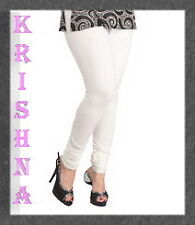 WHITE COLOUR ( XXXL : XXL : XL : L : M : S ) ALL SIZES LEGGINGS AVAILABLE