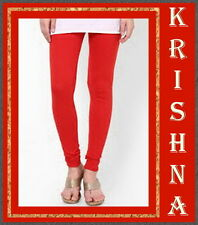 TOMATO RED COLOUR ( XXXL : XXL : XL : L : M : S ) ALL SIZES LEGGINGS AVAILABLE