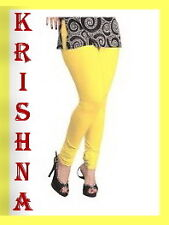 YELLOW COLOUR ( XXXL : XXL : XL : L : M : S ) ALL SIZES LEGGINGS AVAILABLE
