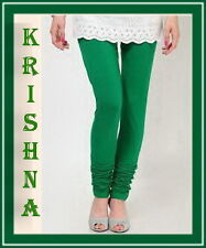 GREEN COLOUR ( XXXL : XXL : XL : L : M : S ) ALL SIZES LEGGINGS AVAILABLE