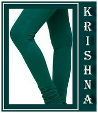 RAMA GREEN COLOUR ( XXXL : XXL : XL : L : M : S ) ALL SIZES LEGGINGS AVAILABLE