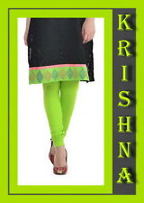 LIGHT PARROT GREEN ( XXXL : XXL : XL : L : M : S ) ALL SIZES LEGGINGS AVAILABLE